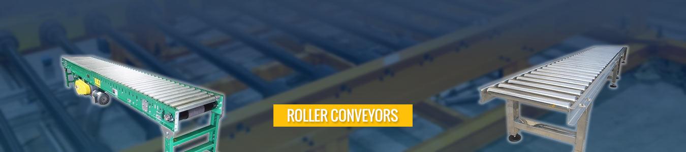 Roller Conveyor designer manufacturer and supplier in Umm al